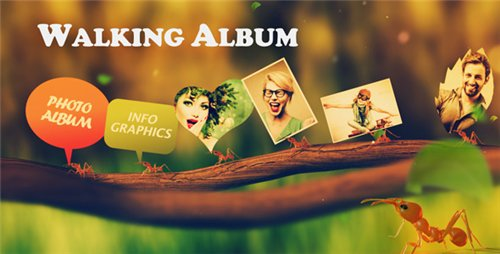 Walking Album - After Effects Project (Videohive)