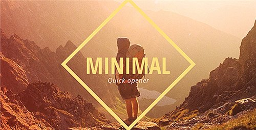 Minimal Opener Slideshow - After Effects Project (Videohive)