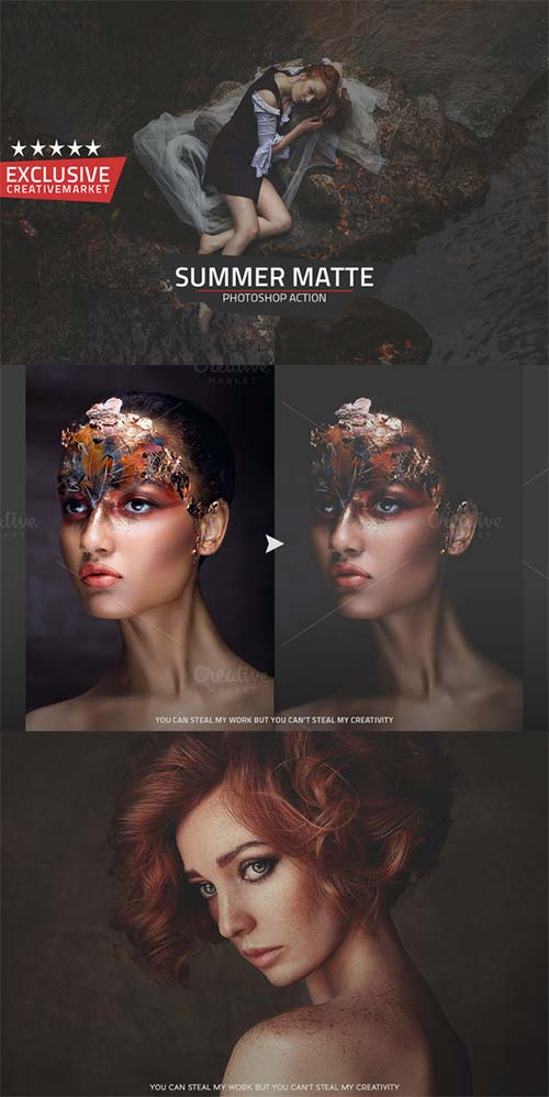 CreativeMarket Summer Matte Action