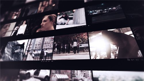 Modern Video Frame - After Effects Project (Videohive)