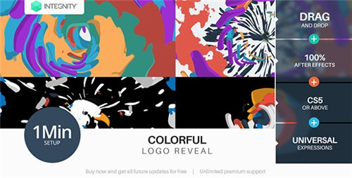 Colorful Logo Reveal - After Effects Project (Videohive)