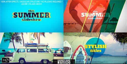 Favorite Summer Slideshow - After Effects Project (Videohive)