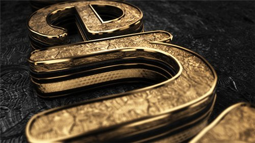 Black Gold Logo V3 - After Effects Project (Videohive)