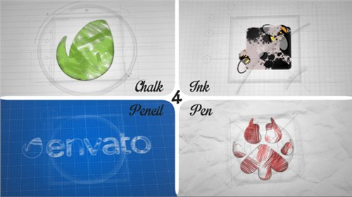 Sketch and Ink Logo 12056854 - After Effects Project (Videohive)