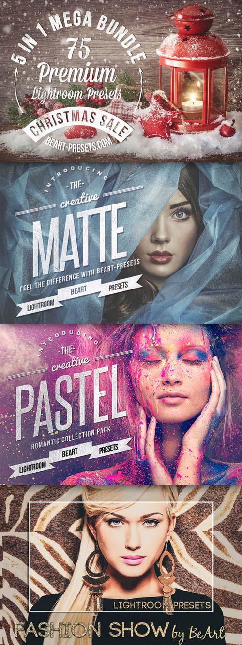 CreativeMarket Christmas Mega Bundle Lightroom Presets