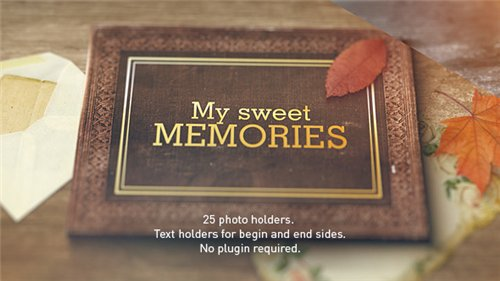Old Memories Album Gallery - After Effects Project (Videohive)