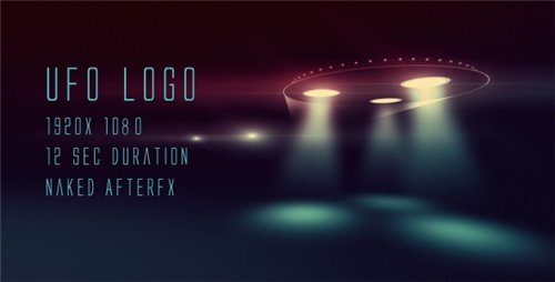UFO logo - After Effects Project (Videohive)