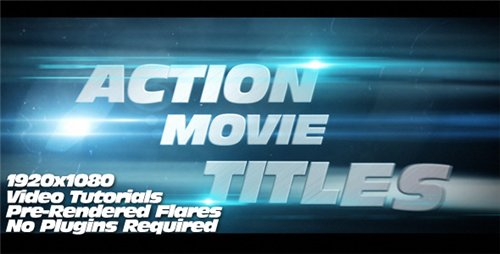 Action Movie Titles - After Effects Project (Videohive)