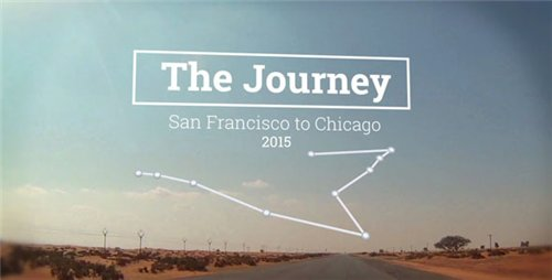 The Journey Map Slideshow - After Effects Project (Videohive)