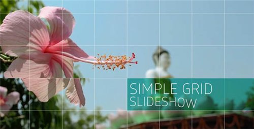 Simple Grid Slideshow - After Effects Project (Videohive)