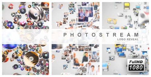Photo Stream Logo Reveal - After Effects Project (Videohive)