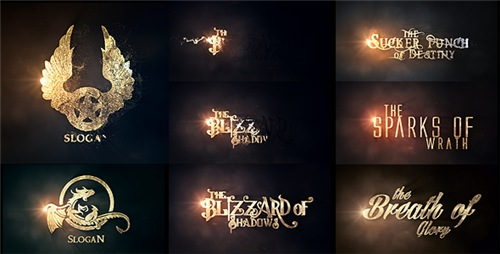 Burn To Be Gold - After Effects Project (Videohive)