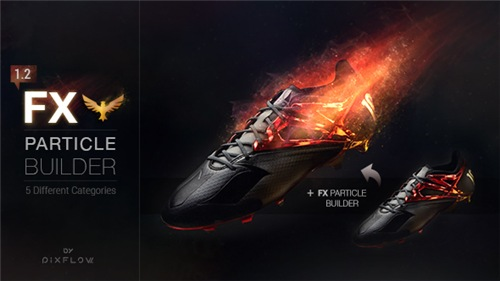 FX Particle Builder | Fire Dust Smoke Particular Presets - After Effects Project (Videohive)