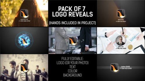 Pack of Hand Logo - After Effects Project (Videohive)