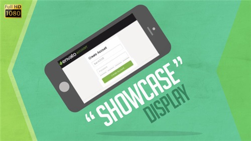 Showcase Device Display - After Effects Project (Videohive)