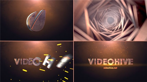 Cinematic Tunnel Logo Text Reveal - After Effects Project (Videohive)