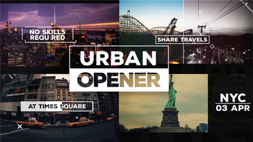 Urban Opener - After Effects Project (Videohive)