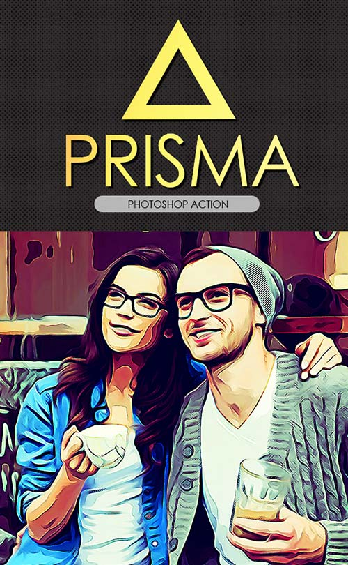 GraphicRiver Prisma Effect PS Action