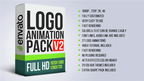 Logo Animation Pack V2 - After Effects Project (Videohive)