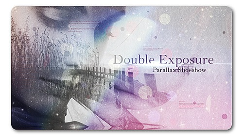 Double Exposure | Parallax Slideshow - After Effects Project (Videohive)