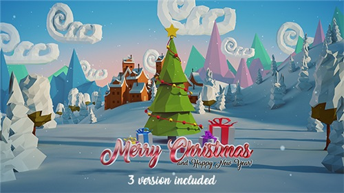 Christmas & New Year Logo 18833080 - After Effects Project (Videohive)
