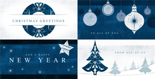Parallax Christmas Greetings - After Effects Project (Videohive)