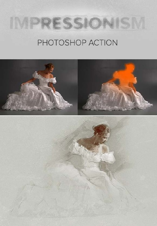 GraphicRiver Impressionism Photoshop Action