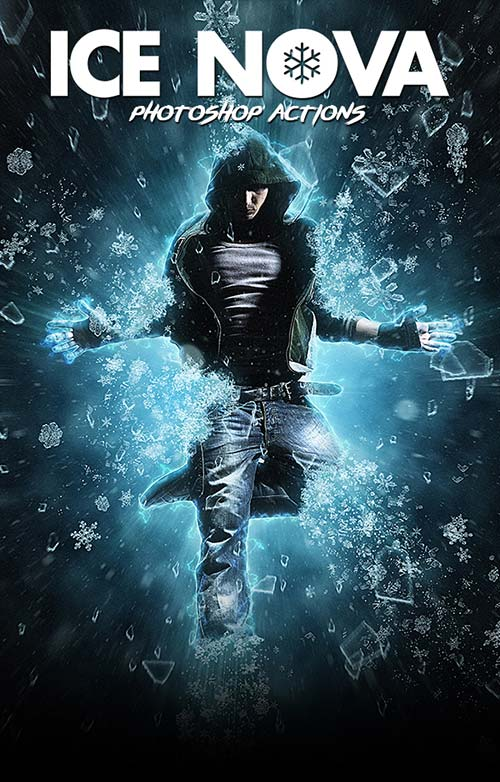 GraphicRiver Ice Nova - Photoshop Action