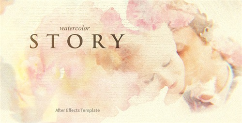 Watercolor Story - After Effects Project (Videohive)