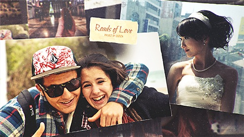 Roads of Love - Romantic Slideshow - After Effects Project (Videohive)
