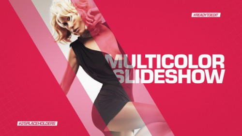 Multicolor Slideshow - After Effects Project (Videohive)