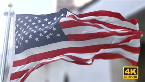 3D Flag V2 - After Effects Project (Videohive)
