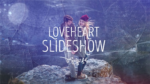 Loveheart Slideshow - After Effects Project (Videohive)