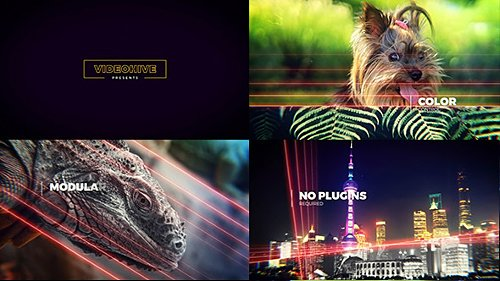 Lightlines | Slideshow - After Effects Project (Videohive)