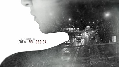 Double Exposure Movie Intro - After Effects Project (Videohive)