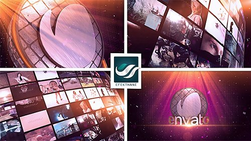 Video Wall Logo - After Effects Project (Videohive)