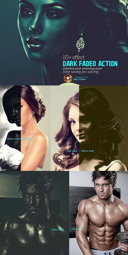CreativeMarket Dark Faded Action