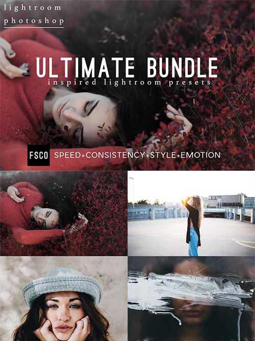 CreativeMarket Ultimate Bundle Lightroom & PS ACR