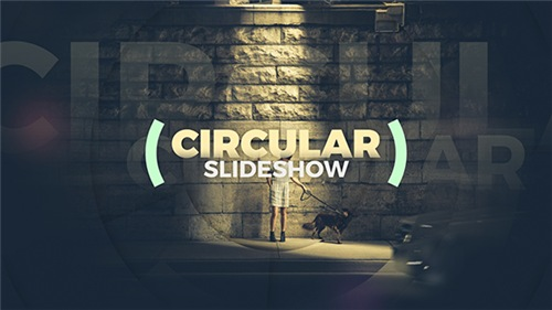Circular Slideshow - Modern Elegant Parallax Opener - After Effects Project (Videohive)