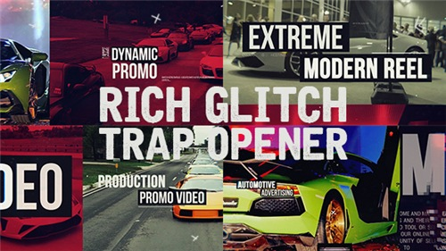 Rich Glitch Trap Opener - After Effects Project (Videohive)