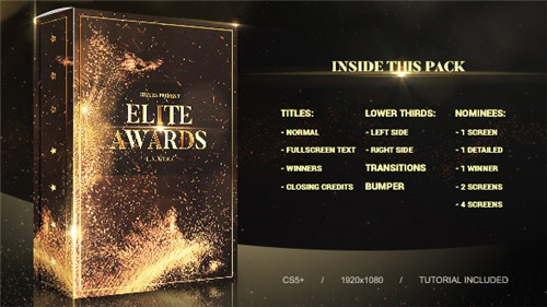 Elite Awards Pack - After Effects Project (Videohive)