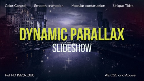 Dynamic Parallax - After Effects Project (Videohive)