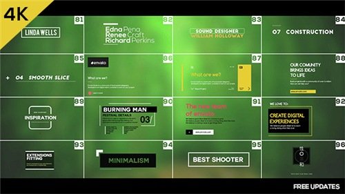 100 Motion Titles and Lowerthirds - After Effects Project (Videohive)