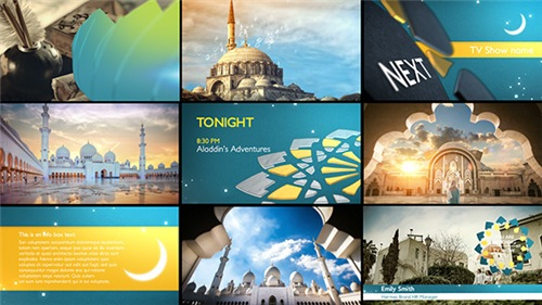 Arabia TV - Ramadan Ident Package - After Effects Project (Videohive)