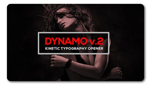 Dynamic Typography Opener v2 - After Effects Project (Videohive)
