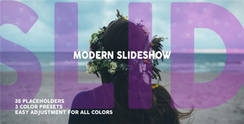 Modern Dynamic Slideshow - After Effects Project (Videohive)