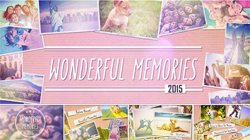 Wonderful Memories Slide Show - After Effects Project (Videohive)
