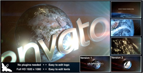 World Logo - After Effects Project (Videohive)