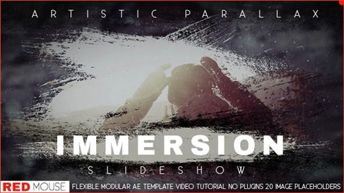 Immersion Artistic Parallax Slideshow - After Effects Project (Videohive)
