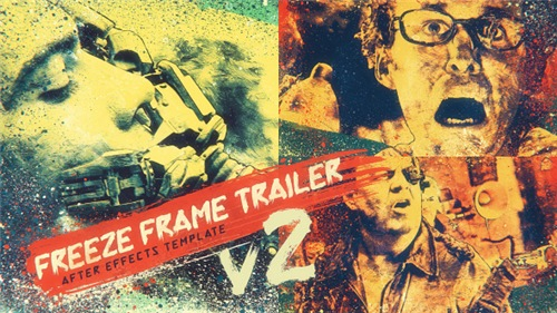 Freeze Frame Trailer V2 - After Effects Project (Videohive)